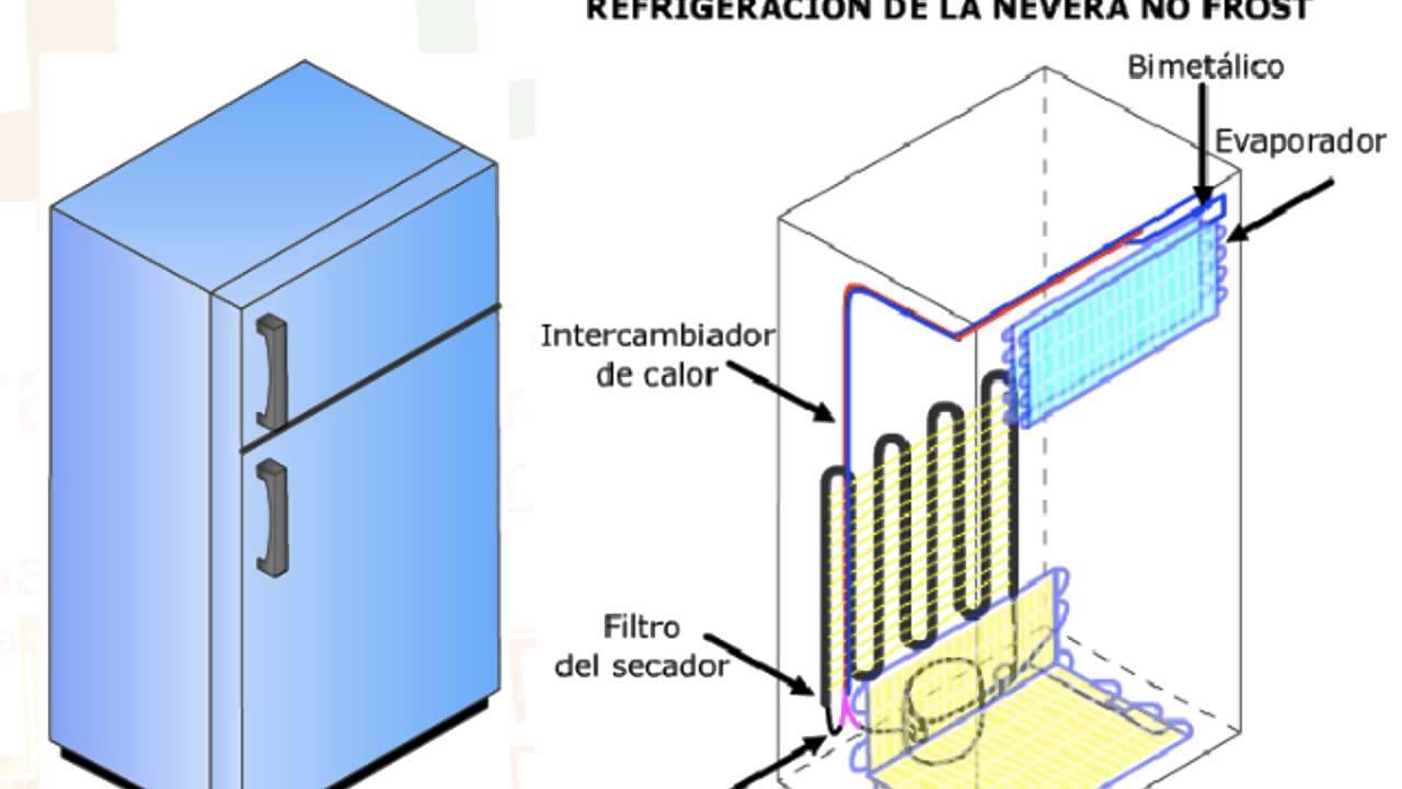 Circuito Basico De Refrigeracion : Sistemas de refrigeracion circuito elemental nevera