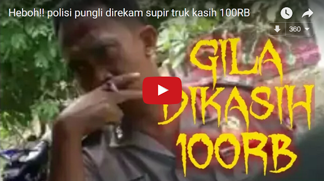 Pria Berseragam Polisi Minta Jatah ke Sopir Truk, Dikasih 50 ribu Malah Minta Rp 100 ribu