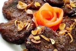 daging kambing goreng