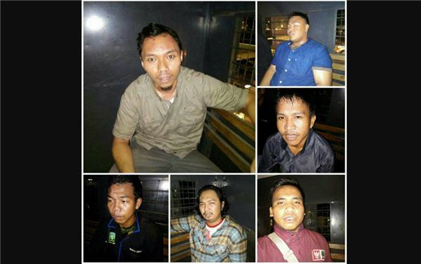 Polisi Represif, 7 Aktivis KAMMI Ditangkap Saat Demo Didepan Istana Negara