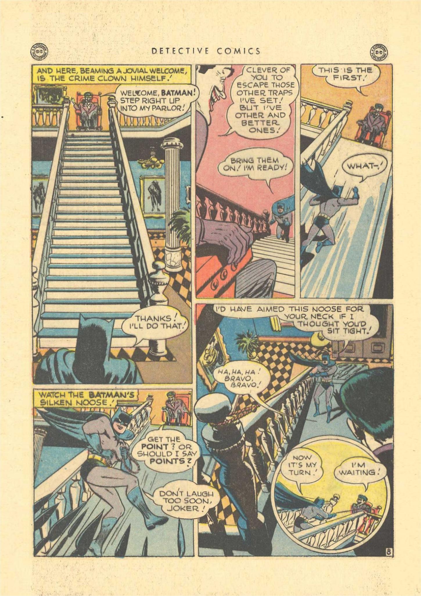 Read online Detective Comics (1937) comic -  Issue #109 - 10