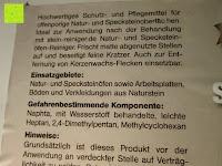 Steinofen-Pflege Einsatzgebiete: Naturstein und Specksteinofen-Pflegeset 4 tlg.