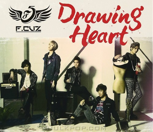 F.CUZ – Drawing Heart [Limited Edition] – EP (Japanese)