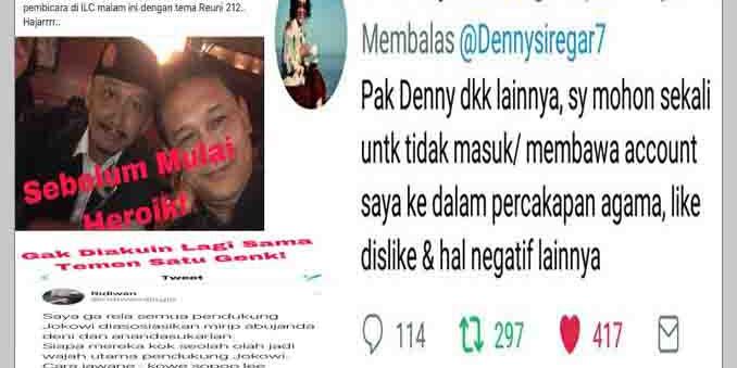 """""""Keok"""" di ILC, Denny Siregar Mention Menteri Susi, Hasilnya..? Kena Diseprot!.Ngakak"""