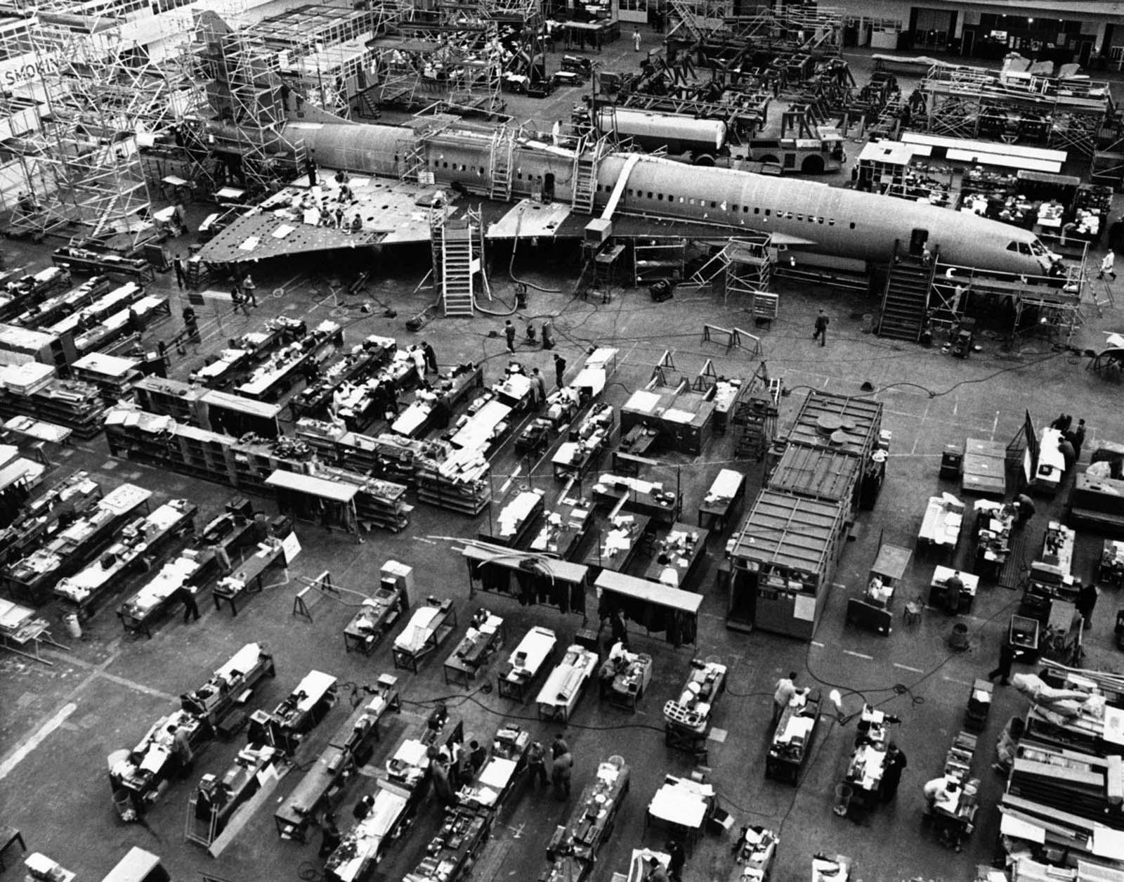 A megállapodás részeként a Concorde épült az Egyesült Királyságban és Franciaországban.