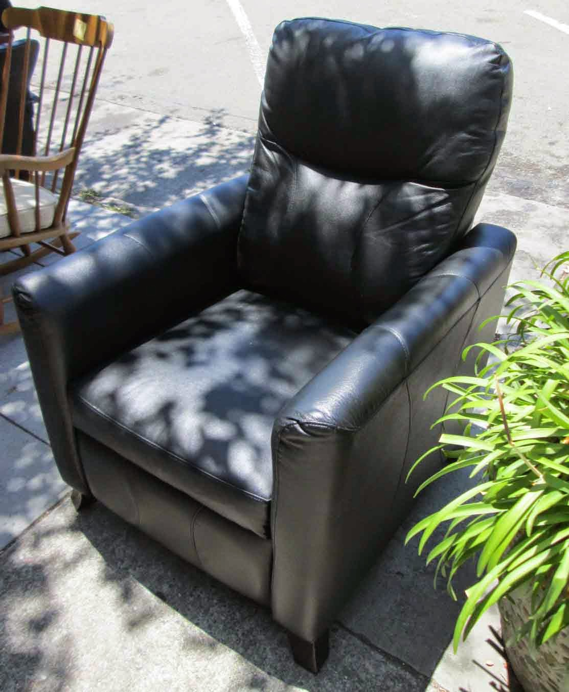 UHURU FURNITURE & COLLECTIBLES: SOLD Slim and Sleek Faux ...