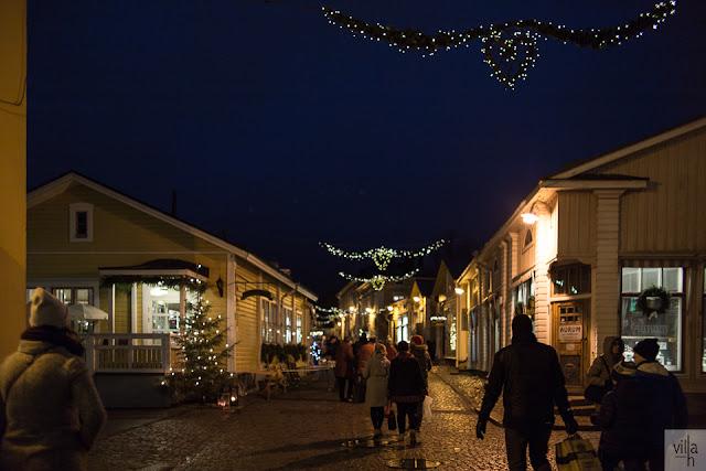 vanha porvoo, matkailu, joulutunnelma, joulumarkkinat