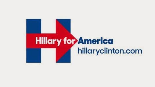 Logo da campanha de Hillary Clinton – veja se ficou melhor