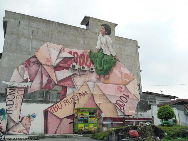 wisata mural medan