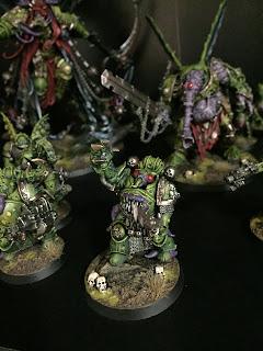 Death guard conversion chaos lord