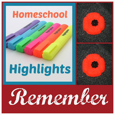 Homeschool Highlights - Remember on Homeschool Coffee Break @ kympossibleblog.blogspot.com - A weekly link-up for homeschoolers - join us!