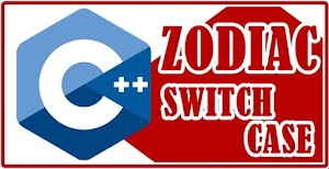 Turbo C++ Programming Zodiac using Switch Case