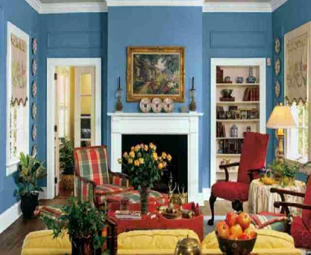 vintage paint colors for living room