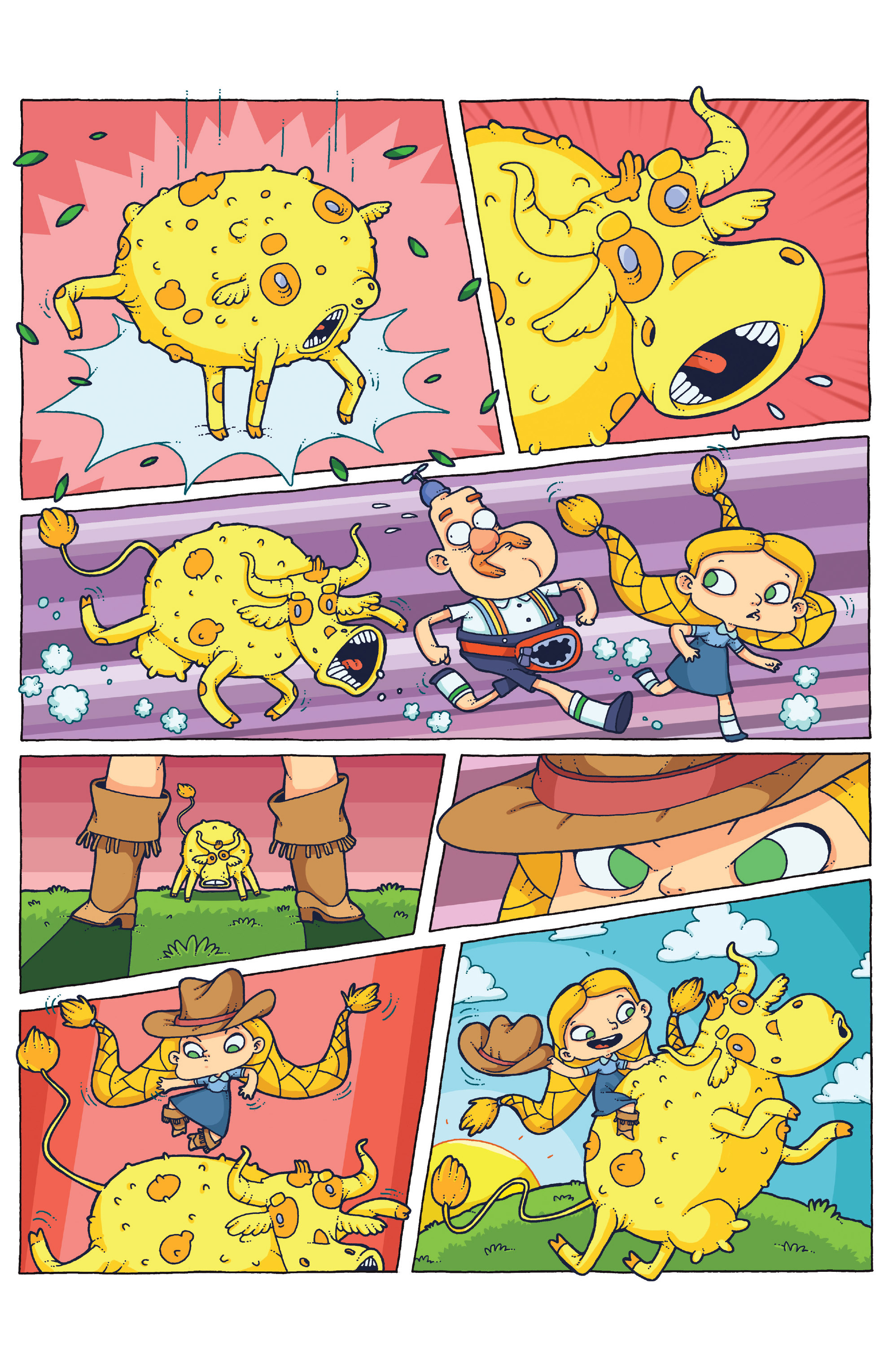 Read online Uncle Grandpa comic -  Issue #4 - 15