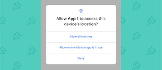 Android Q Location Permission