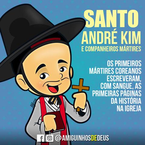 Santo André Kim desenho
