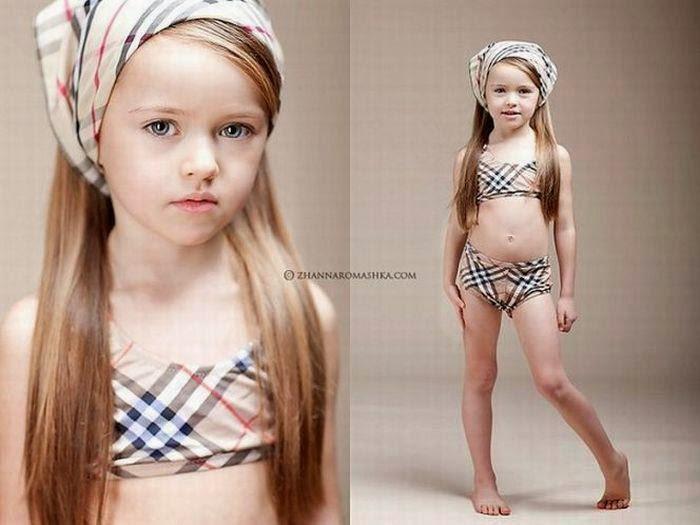 Young russian model kristina congratulate, the