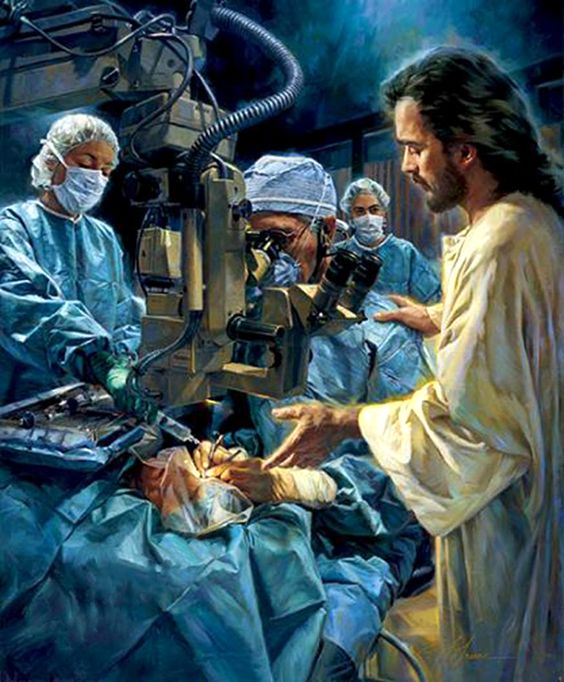 Like the bleeding woman, we need to deliberately reach out and touch Jesus, our Physician.