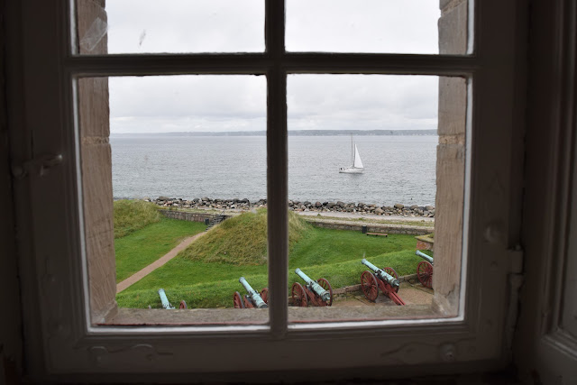 kronborg castle, window view