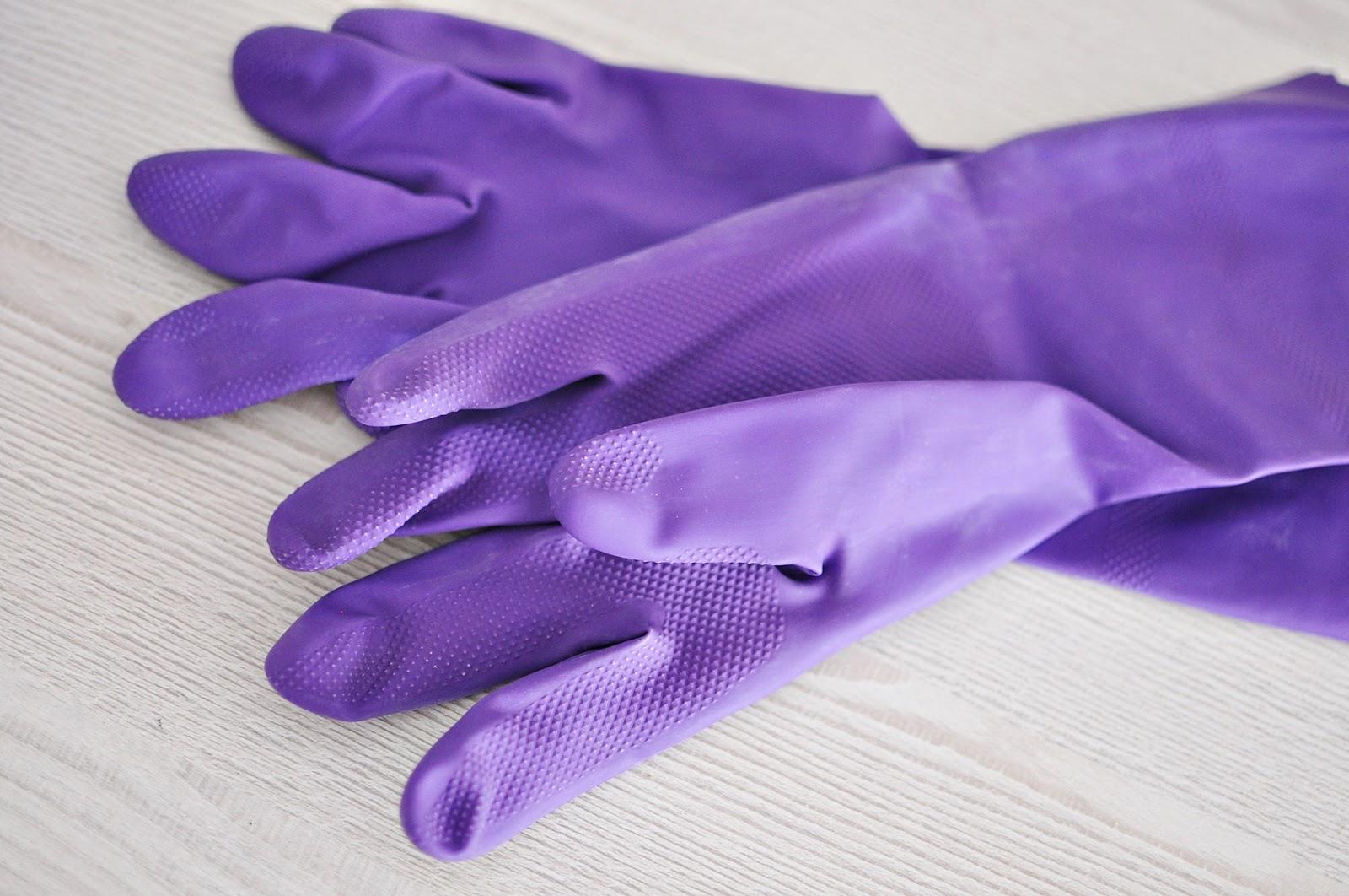 rękawiczki kuchenne, rękawiczki do mycia naczyń