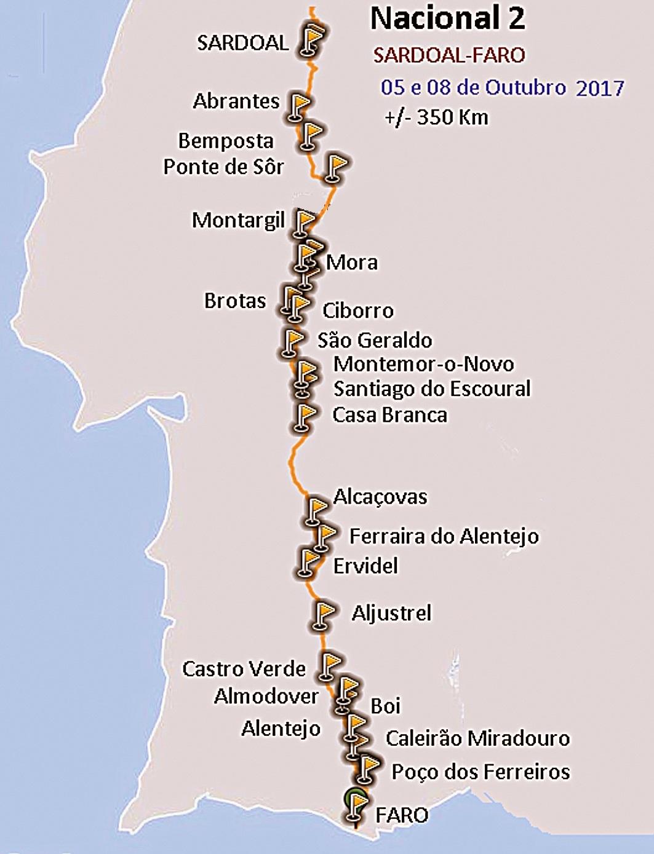 estrada nacional 2 mapa ACTIVIDADES E PASSATEMPOS RADICAIS: 2017 estrada nacional 2 mapa