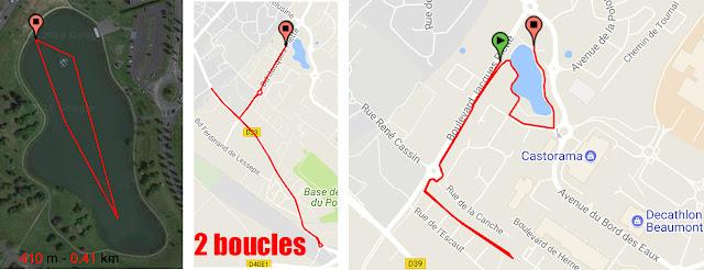Triathlon d'Hénin Beaumont parcours