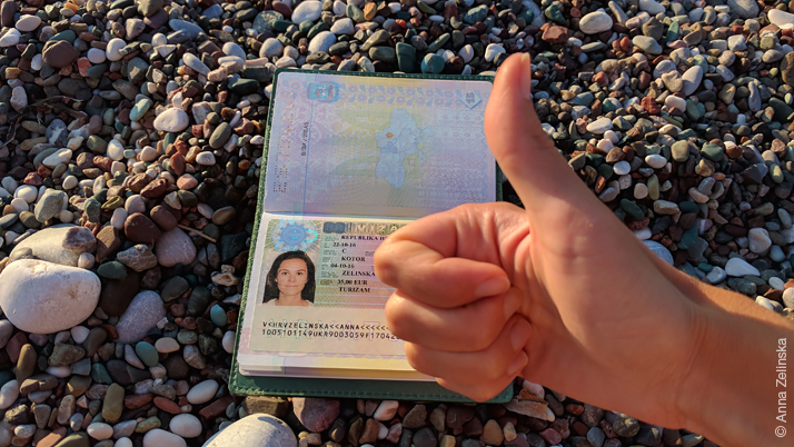Как получить хорватскую визу в Черногории