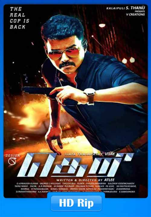 Theri 2017 Hindi Dubbed 480p WEB-DL 400MB x264