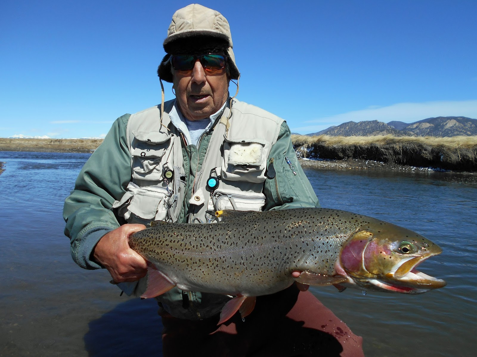 Addictive angling colorado spring on the south platte for Best trout fishing in colorado