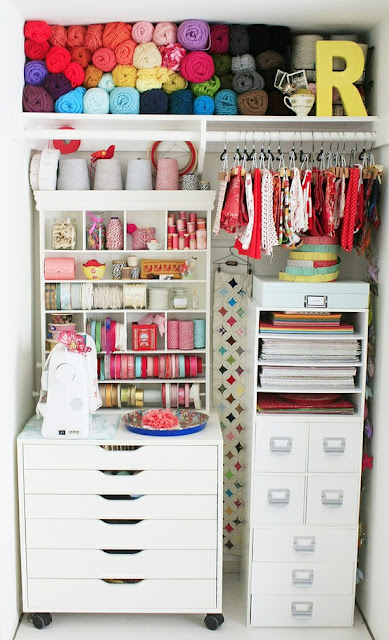 83668505546945351 7e4D7N1Z c Craft Room Delights | Debee Ruiz Brightly Coloured Studio Space