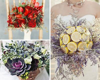 idee e tendenze per bouquet da sposa
