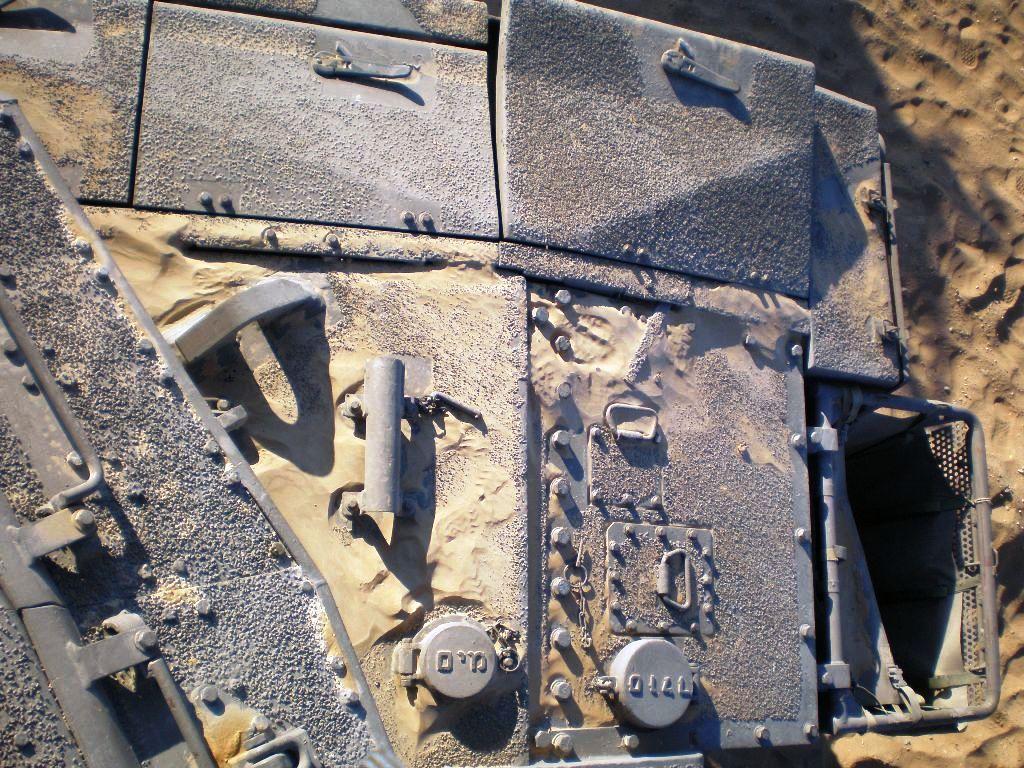 Modeller Merkava Anti Slip Surface