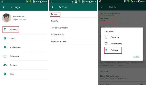 Cara Membuat WhatsApp Tidak Terlihat Online di HP Android