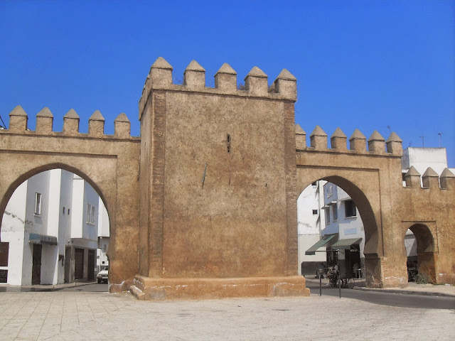 Puerta de la muralla Salé