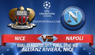Prediksi Nice vs Napoli 23 Agustus 2017
