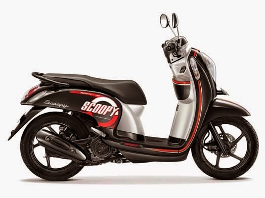 Honda Scoopy eSP Sporty Metro Black