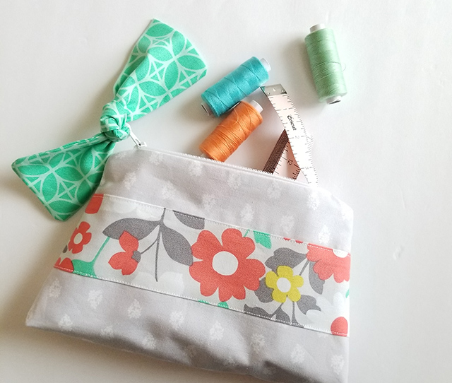 Cricut zipper pouch tutorial