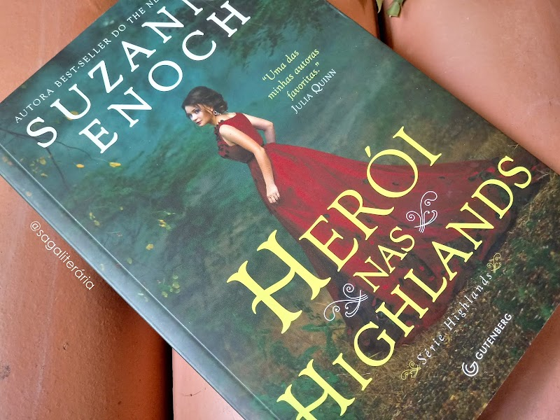 [RESENHA #590] HERÓI NAS HIGHLANDS - SUZANNE ENOCH