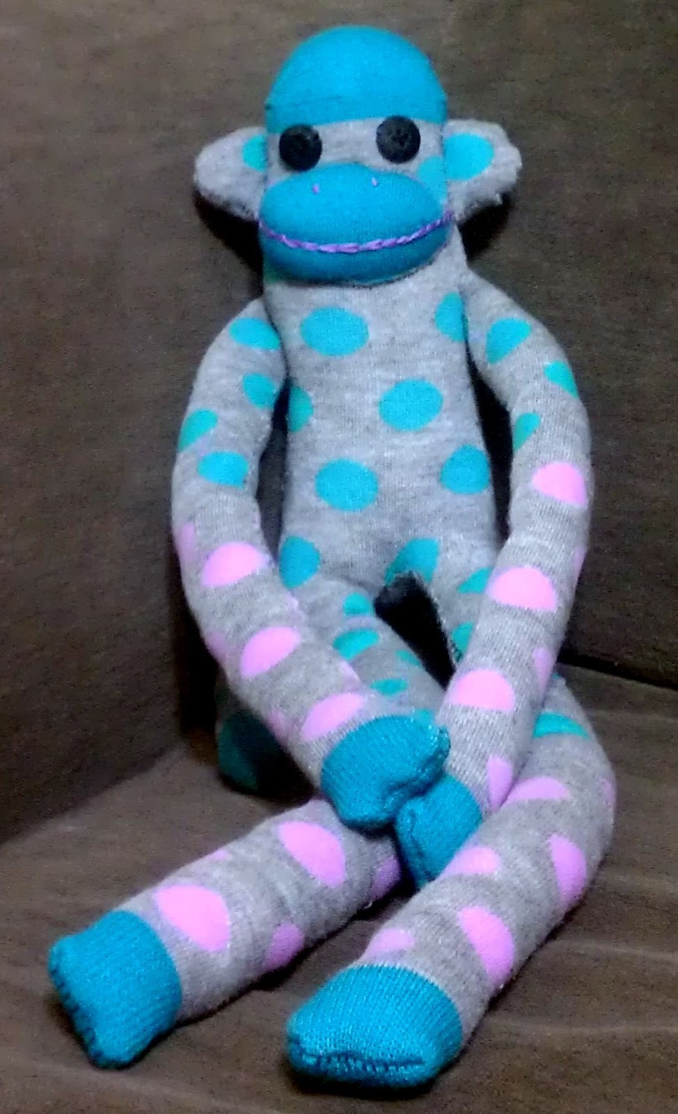 Sock Monkey | Creativity in Therapy | Carolyn Mehlomakulu