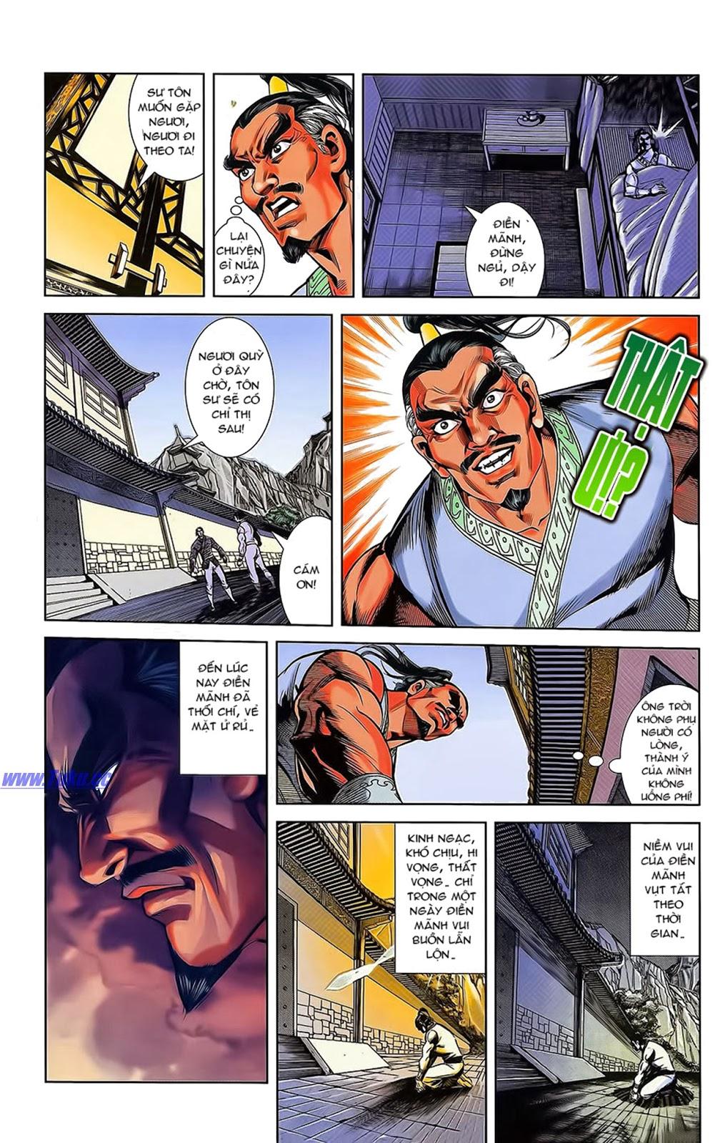 Tần Vương Doanh Chính chapter 15 trang 16
