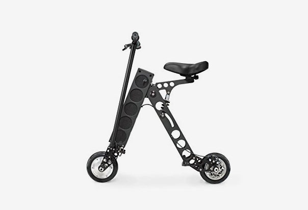 URB-E Electric Folding Scooter 100% Built in America. Designed and assembled in Pasadena, California