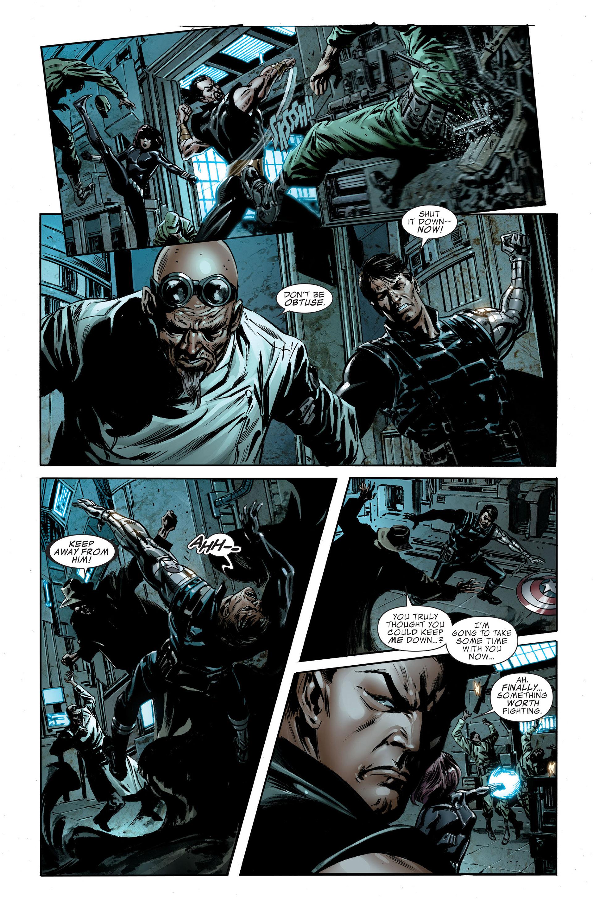 Read online Captain America (2005) comic -  Issue #48 - 15