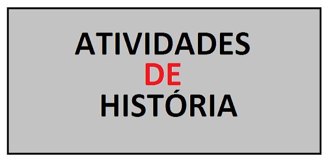 Atividades de História para o 5° ano