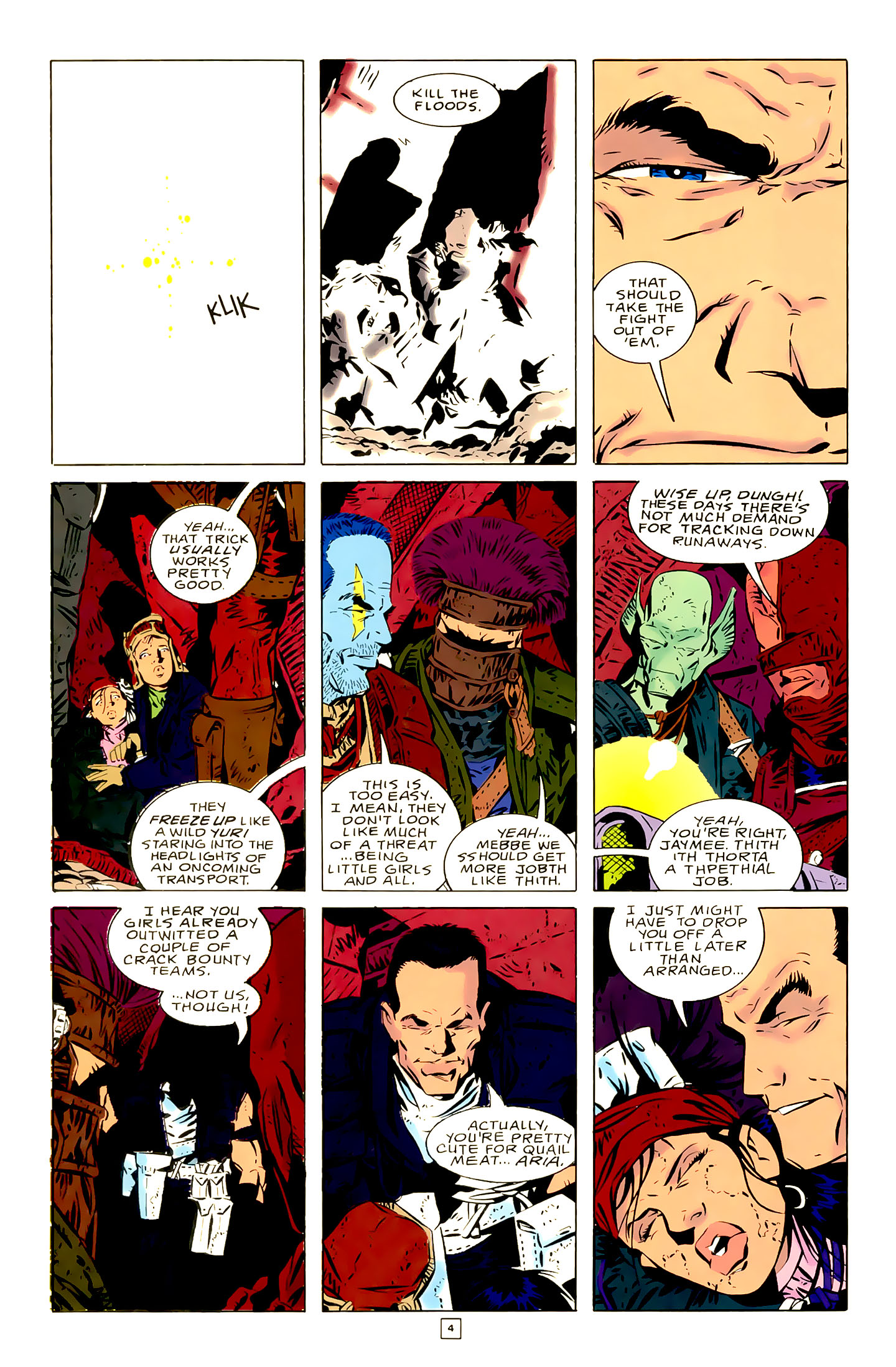 Legion of Super-Heroes (1989) 21 Page 4