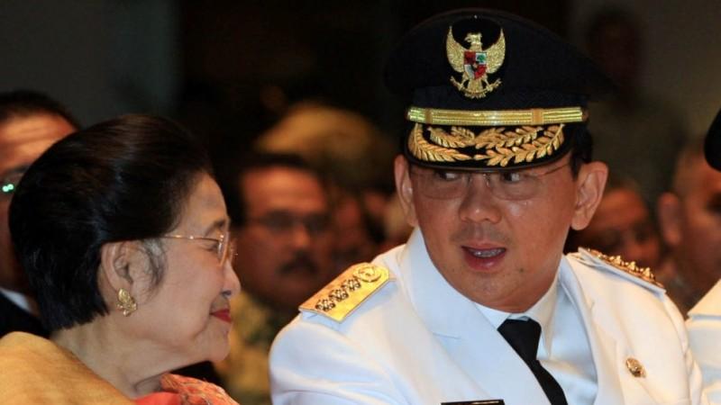 Megawati Soekarnoputri dan Ahok