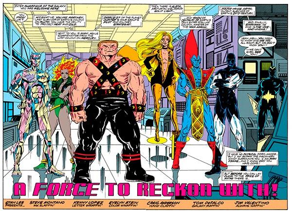 Los Guardianes de la Galaxia en los años 90