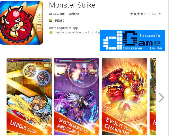 Trucchi Monster Strike Japanese Mod Apk Android v8.2.0