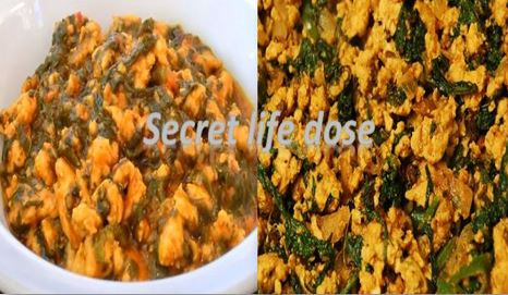 Make mince spinach in a new style chicken| secret life dose