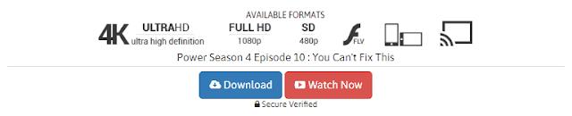 POWER Season 4 Episode 9 : That Ainu0027t Me Full HD