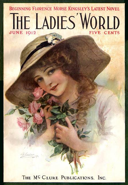 Старинные  обложки журнала The Ladies World (1900 — 1920)